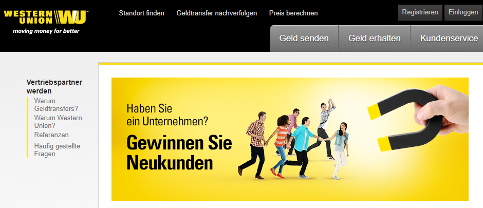 western union screenshot 1