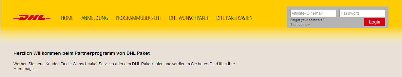 dhl paket screenshot 1