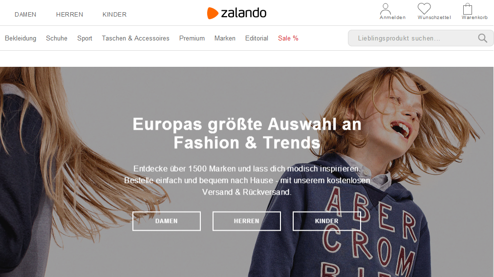 zalando screenshot 1