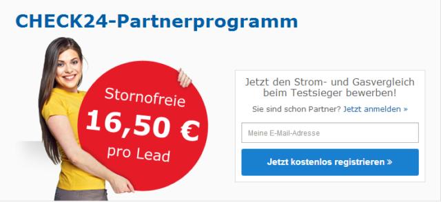 Check24 Partner Login