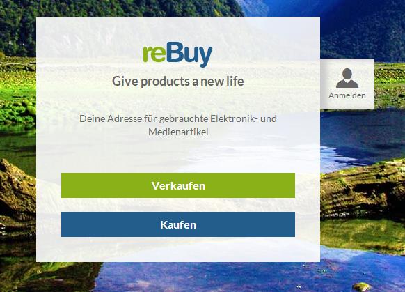 reBuy verkaufen