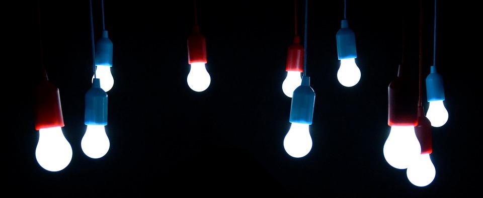 LED-Lampen sparen