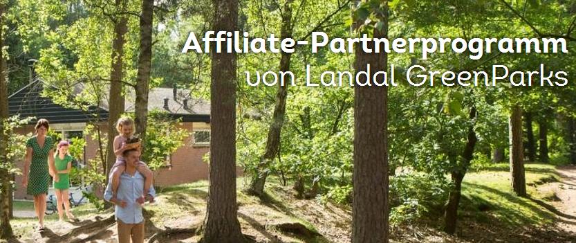 Landal GreenParks Partnerprogramm