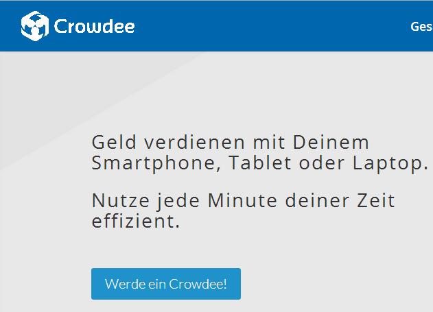 Crowdee App